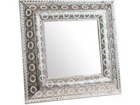 Kovové zrcadlo Arabica 60x60 cm