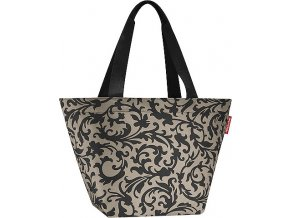 Nákupní taška Reisenthel Béžová s barokními ornamenty | shopper M baroque taupe