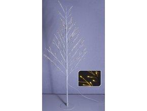 Svítící strom bílý, 120 cm