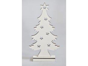 Stromeček bílý s osvětlením