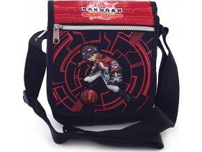 Taška přes rameno Bakugan černo-červená