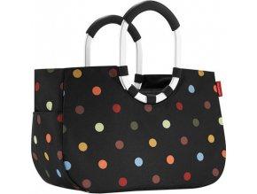Nákupní taška Reisenthel Černá s barevnými puntíky