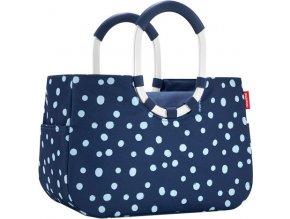 Nákupní taška Reisenthel Modrá s puntíky, Loopshopper L