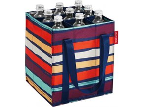 Taška na láhve Reisenthel Barevné pruhy | bottlebag