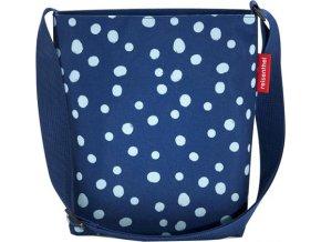 Taška přes rameno Reisenthel Modrá s puntíky | shoulderbag S