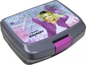 Svačinový box Undercover Violetta, šedý