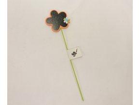 Květina   zápich   30x8cm