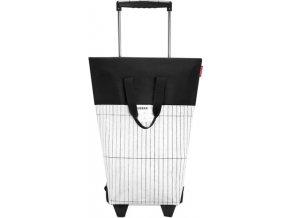 Nákupní taška Reisenthel Bílo-černá | #urban trolley london