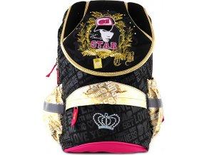 Školní batoh Target STAR, zlaté lemování