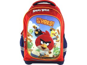 Školní batoh Target Angry Birds/červený