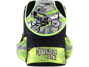 Školní batoh Target Motocross Race, motorkář na motorce