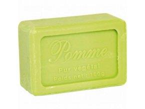 Mýdlo francouzské přírodní JABLKO 100g