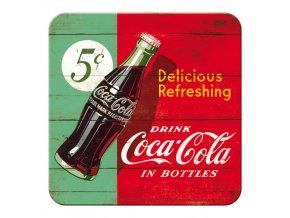 Podtácek Coca Cola Delicious Refreshing