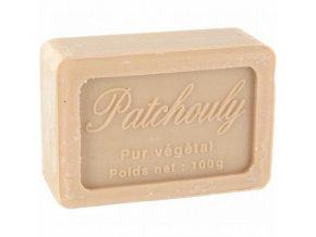 Mýdlo francouzské přírodní PATCHOULI 100g