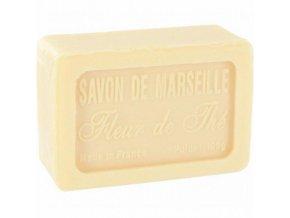 Mýdlo francouzské přírodní ČAJOVÉ KVĚTY fleur de the 100g