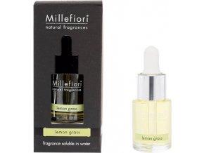 Aroma olej Millefiori Milano Natural, 15ml/Citrónová tráva