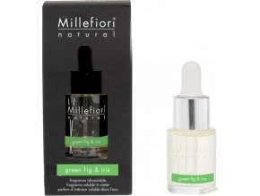 Aroma olej Millefiori Milano Natural, 15ml/Zelený fík a kosatec