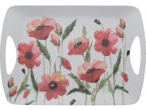 Melaminový tácek Watercolour Poppies velký