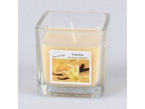 Vonná svíčka ve skle Vanilka 85g