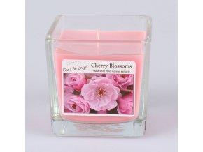 Vonná svíčka ve skle Třešňový květ 200g