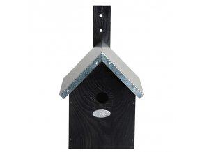 Budka pro Sýkorku modřinku černá 20x18x32cm