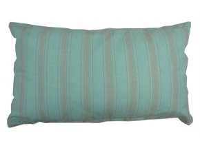 Polštář Linen Stripe modrý 30x50cm