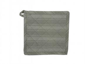Textilní podložka Linen Stripe šedá
