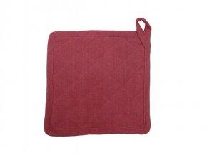 Textilní podložka Indi dark červená