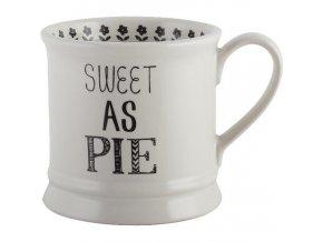 Keramický hrnek Sweet As Pie 8x12x9cm 280ml