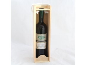 Dřevěná krabice na 1 láhev