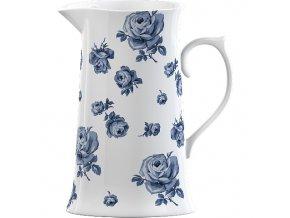 Porcelánový džbán | Vintage Indigo | 19x15x10cm