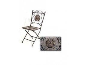 Židle Vigo kov 98x40x49cm