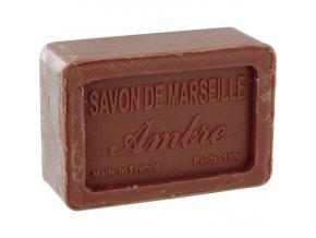 Mýdlo francouzské přírodní JANTAR ambre 100g