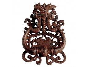 Litinové klepadlo ornamenty 13,3x3x19,3cm