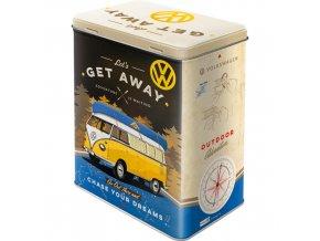 Dóza na potraviny VW Let's Get Away 14x20cm