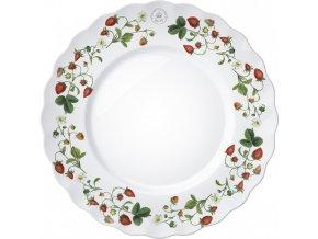 Dezertní talíř   Strawberry fayre   set 4ks   21x21cm