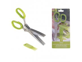 Nůžky na pažitku s čistítkem