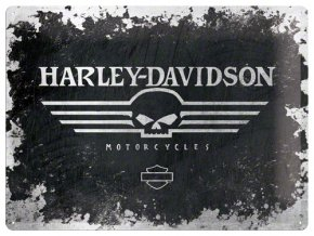 Plechová cedule Harley Davidson Motocycles II 30x40cm