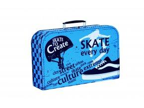 Kufřík | dětský | skate | 35x23x11cm