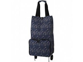 Nákupní taška na kolečkách giraffes 28x54x20,5cm