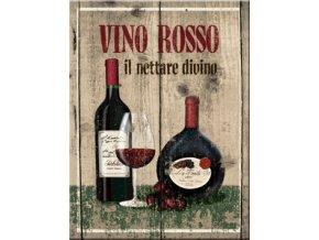 Magnet na lednici Vino Rosso