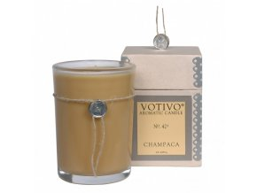 Vonná svíčka CHAMPACA | 8x8x11cm | 193g | 60h