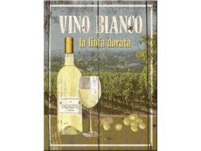 Magnet na lednici Vino Bianco