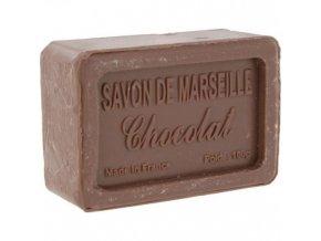 Mýdlo francouzské přírodní čokoláda chocolat 100g