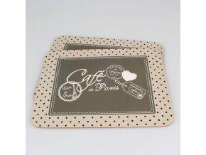 Prostírání Café de Paris set 2ks 29×0,5×21cm