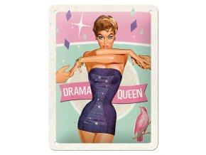 Plechová cedule Drama Queen