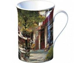 Hrnek Café porcelán 10x11x8cm
