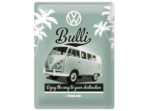 Plechová cedule VW Bulli