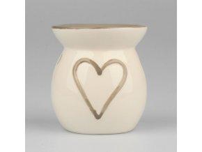 Aroma lampa srdce 10cm