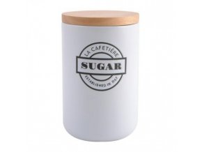 Dóza na cukr LA CAFETIÉRE | keramická | 11x11x26cm